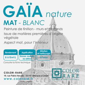 GAIA Mat – blanc
