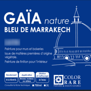 GAIA bleu Marrakech velours – peinture mate