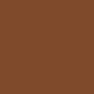 Petit ours brun, peinture a la chaux, color-rare