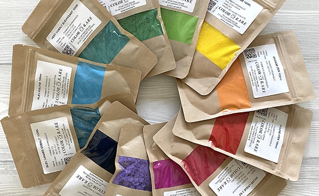 pigments, colorare, comment utiliser des pigments