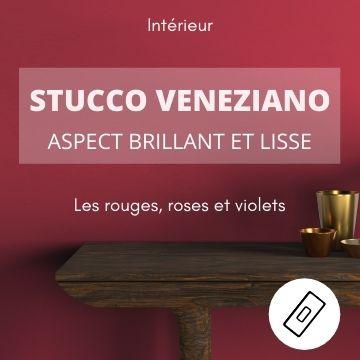 Color-Rare, Stucco Veneziano, les rouges
