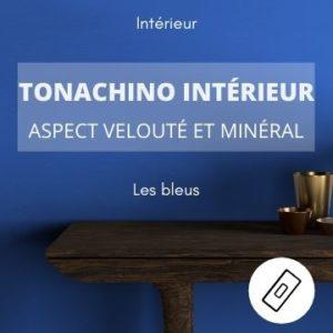 TONACHINO INTERIEUR les bleus – aspect velouté et minéral