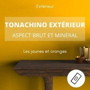 TONACHINO EXTERIEUR les jaunes – aspect brut et minéral