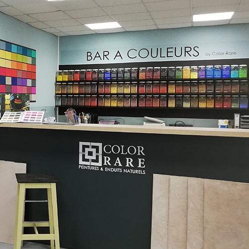 bar à couleurs, pigments, bmi peintures,