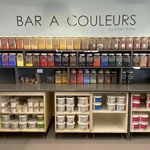 Bar à couleurs, Color-rare