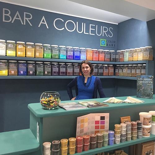 Bar à couleurs, pigments naturels, coloration peinture, peinture écologique