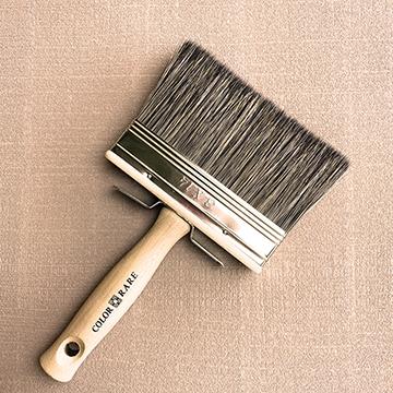 peinture naturelle, peinture écologique, brosse peinture, brosse à badigeon, badigeon de chaux
