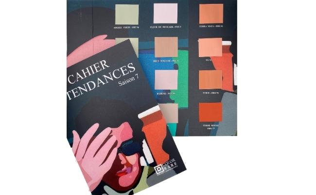 cahier tendance , nuancier tendance, couleurs déco 2021