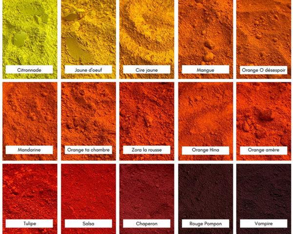 color-rare, bordeaux, pigment, cadmium, coffret, aquarelle