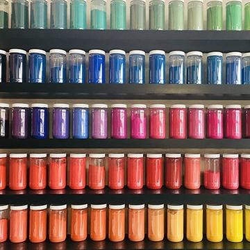 Pigments, Colorare, Color-Rare, couleurs peinture, coloration peinture, coloration enduit