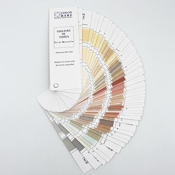 Color-Rare, nuancier peinture, peinture naturelle, peinture écologique, couleurs badigeon de chaux