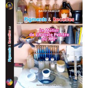 Pigments & Recettes, le métier de l'Artiste Peintre du XXIe