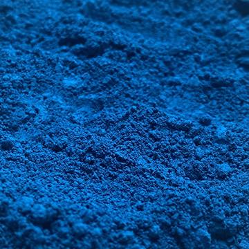 pigment, bleu, cobalt, aquarelle bleue, color-rare, colorare