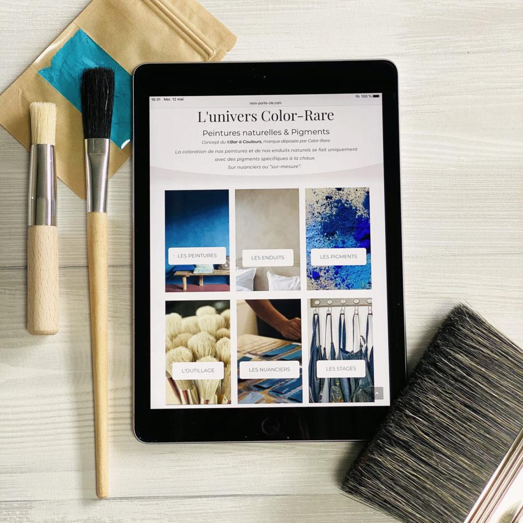 color rare, bordeaux, lancement nouvelle e boutique, blog
