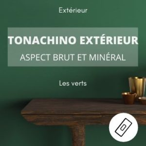 TONACHINO EXTERIEUR les verts – aspect brut et minéral