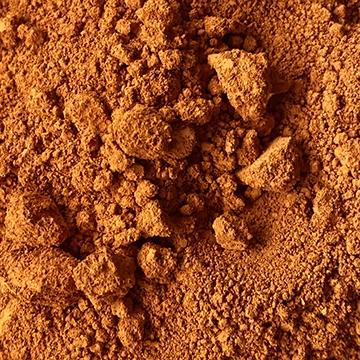 pigment brun, colorare, brun lunaire