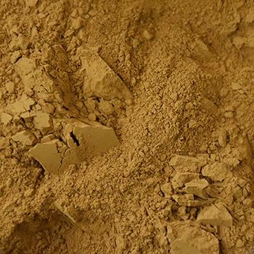 pigment, terre jaune, colorare, brun biche