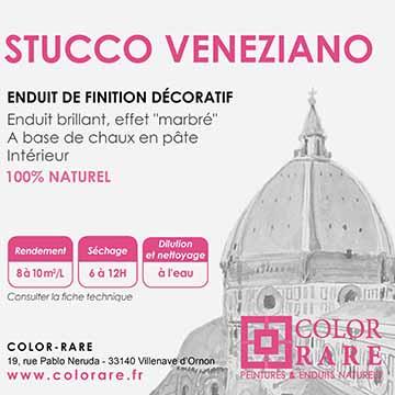 Stucco veneziano non teinté