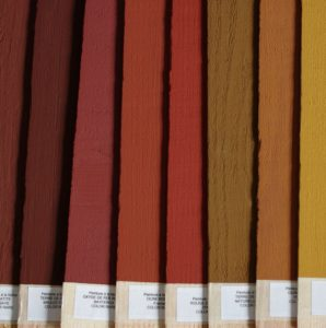 Color-Rare, peinture à la farine, nuancier